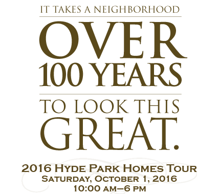 It takes a neighborhood over 100 years to look this great.